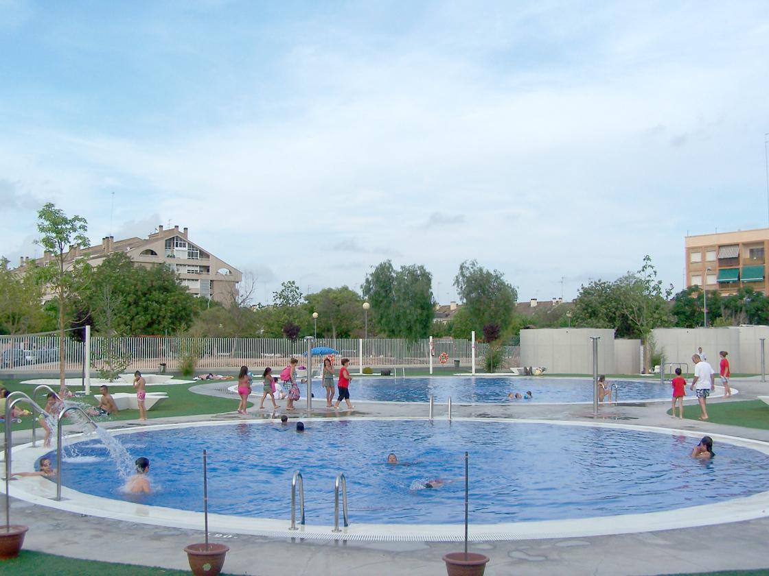 la piscina descoberta obri el dissabte 7 de juny