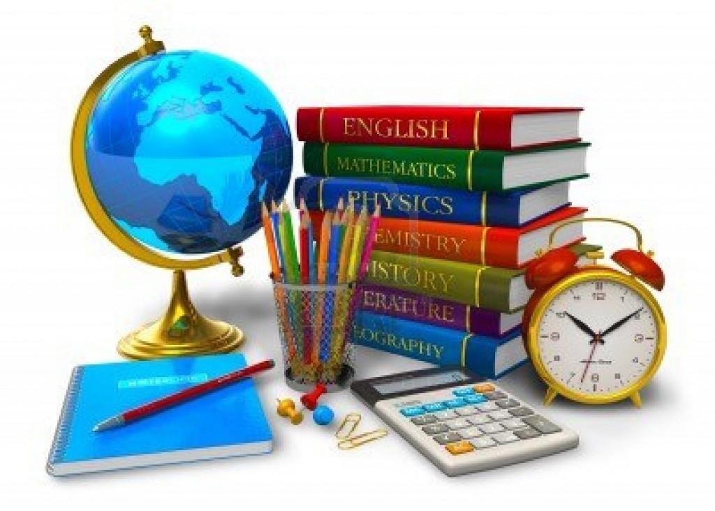 10311103-educacion-y-regreso-al-concepto-de-escuela-pila-de-libros-de-texto-globo-terraqueo-de-escritorio-cal